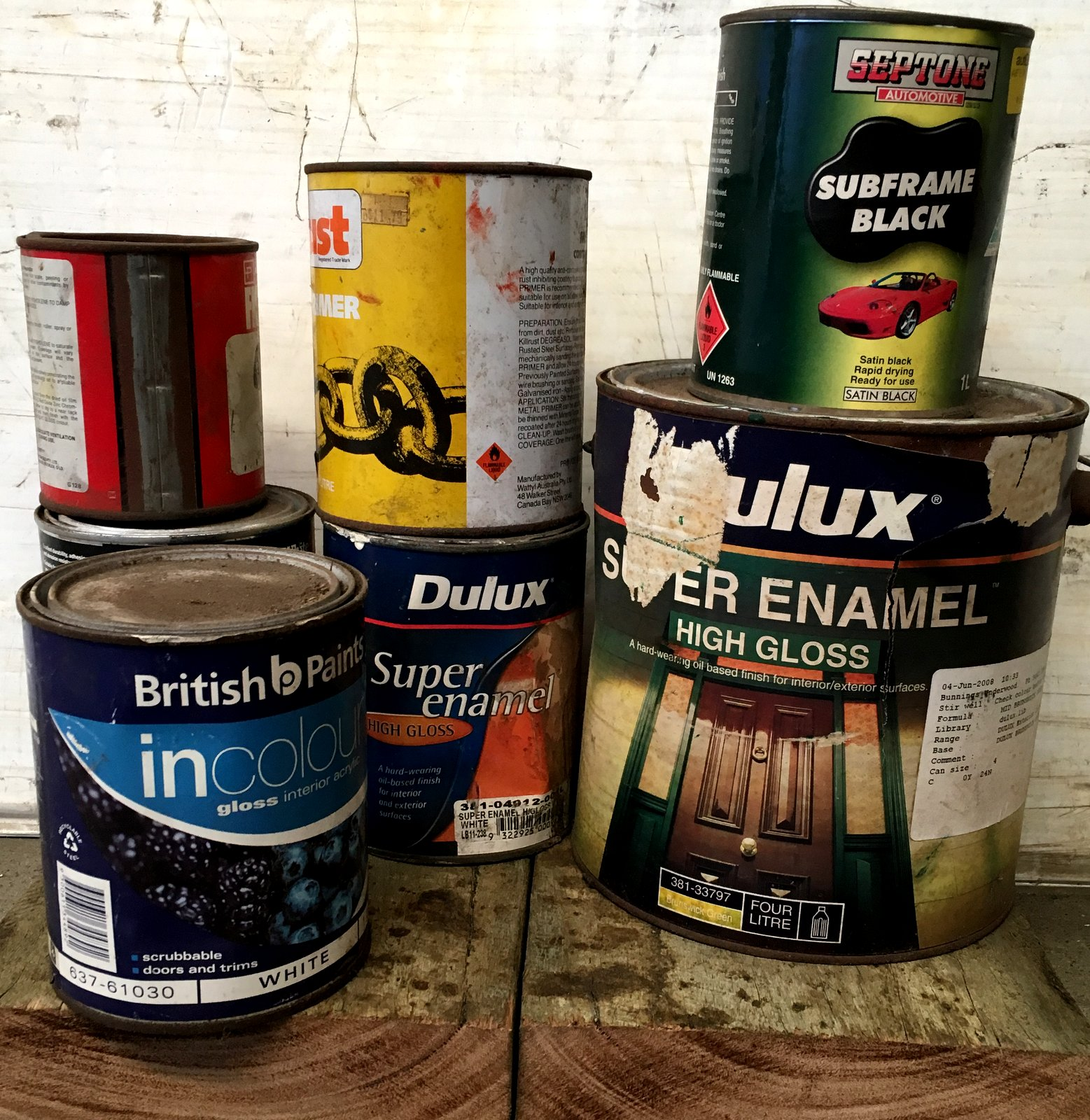 Where To Get Rid Of Empty Paint Cans