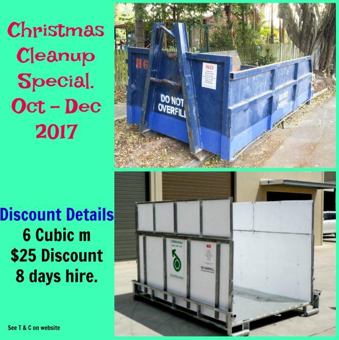 Skip bin discount $25